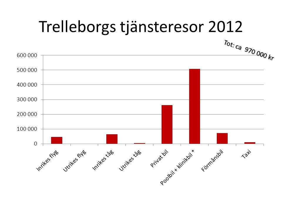 Trelleborgs tjänsteresor 2012