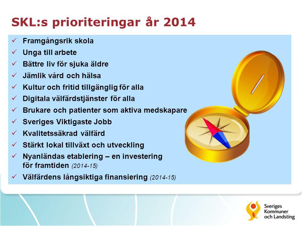SKL:s prioriteringar år 2014