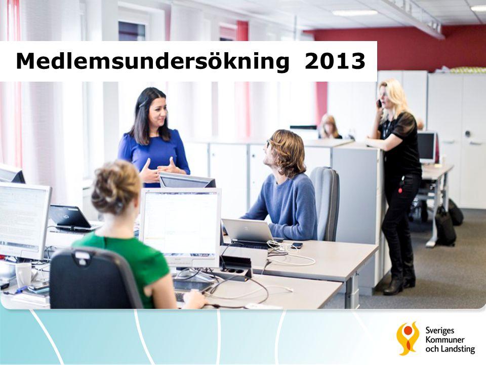Medlemsundersökning 2013