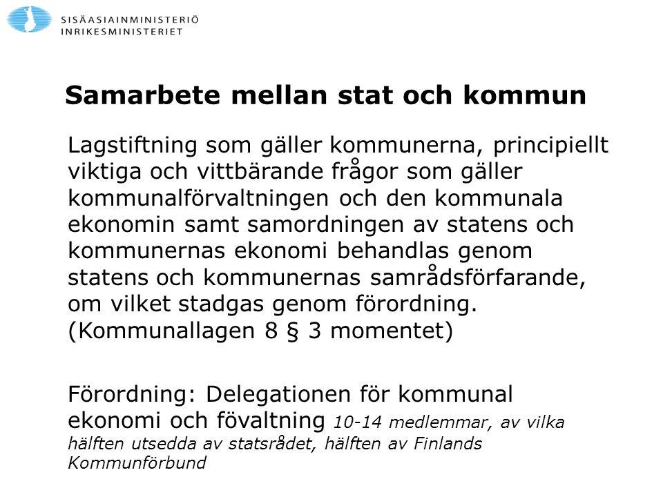 Samarbete mellan stat och kommun