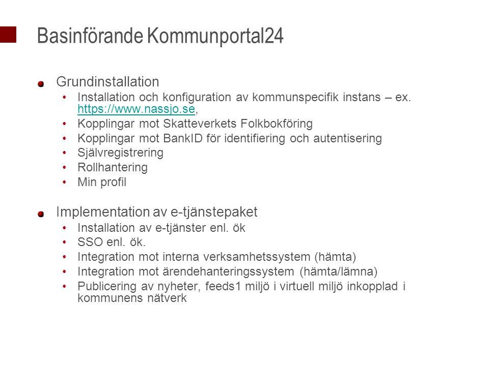 Basinförande Kommunportal24