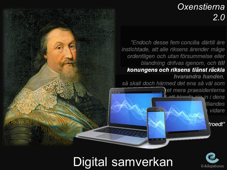 Digital samverkan Oxenstierna 2.0