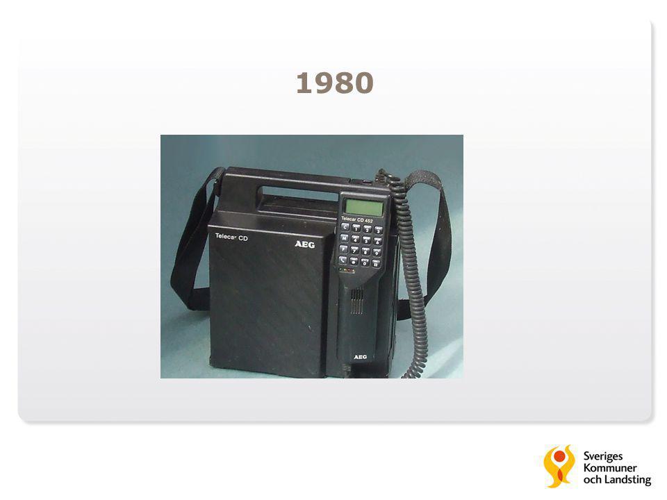 1980 Sverige var tidigt ute med att utveckla ett