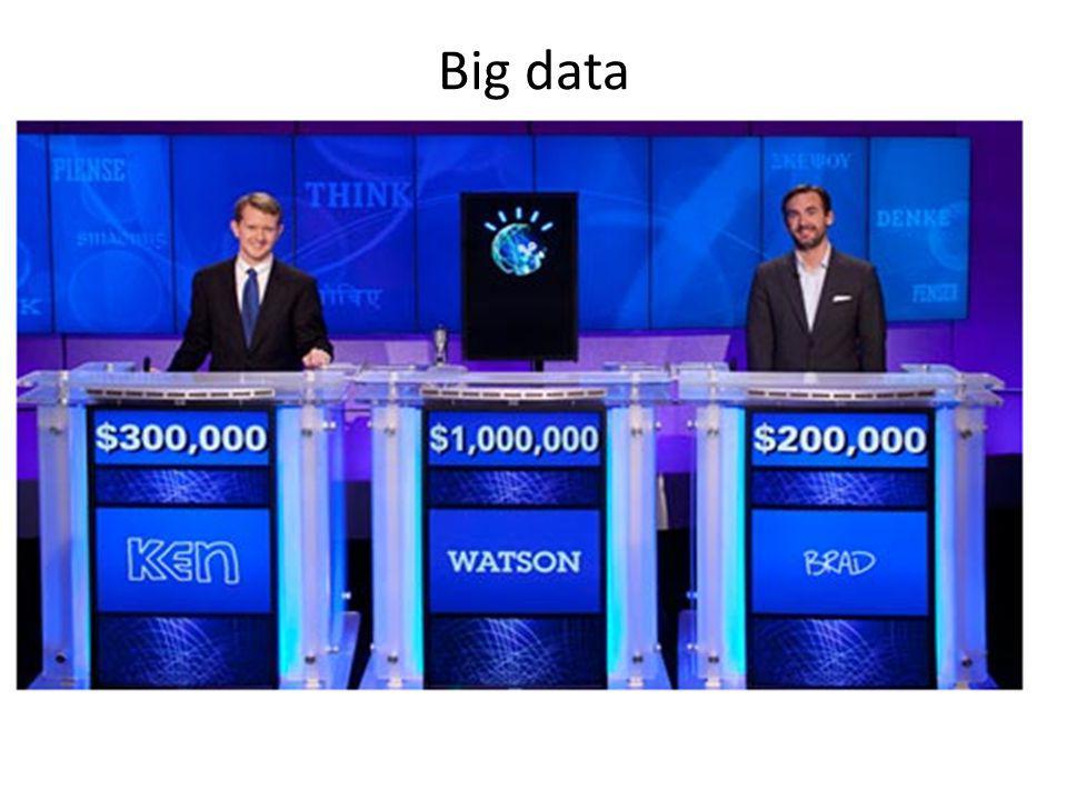 Big data Vad händer när datorkraften i var mans hand motsvarar beräkningskapaciteten hos samtliga mänskliga hjärnor