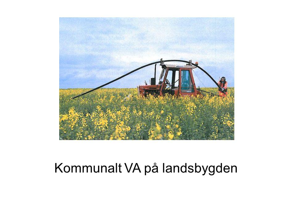 Kommunalt VA på landsbygden