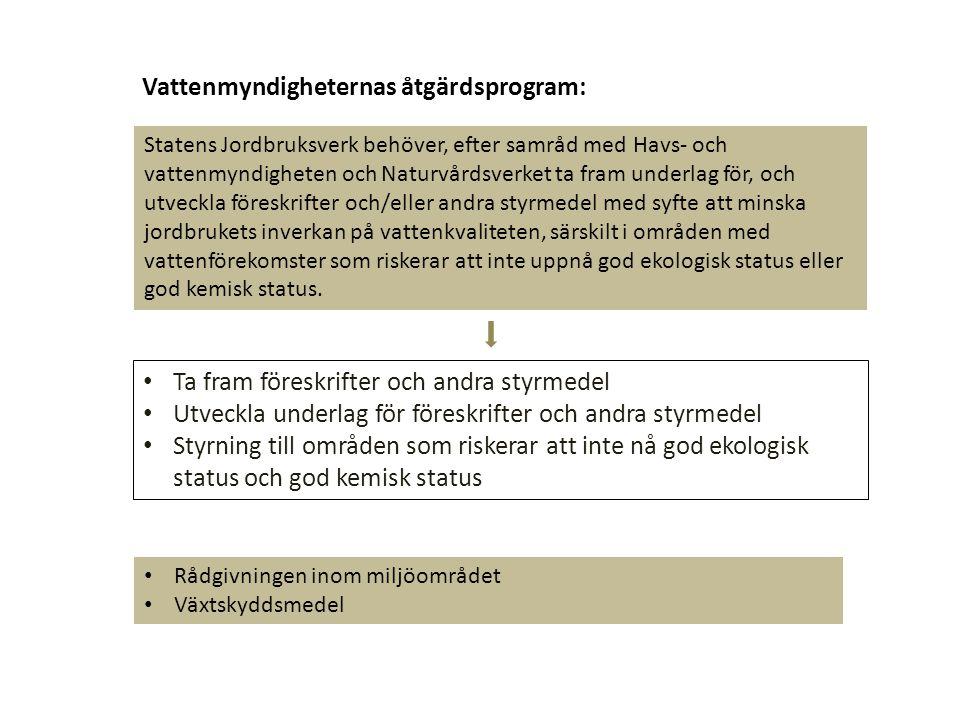 Vattenmyndigheternas åtgärdsprogram: