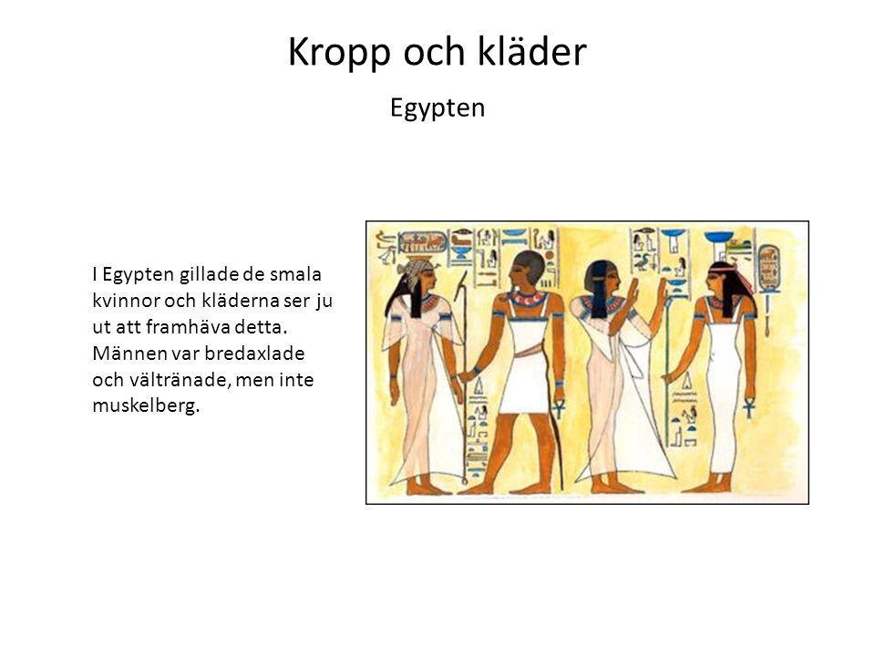Kropp och kläder Egypten