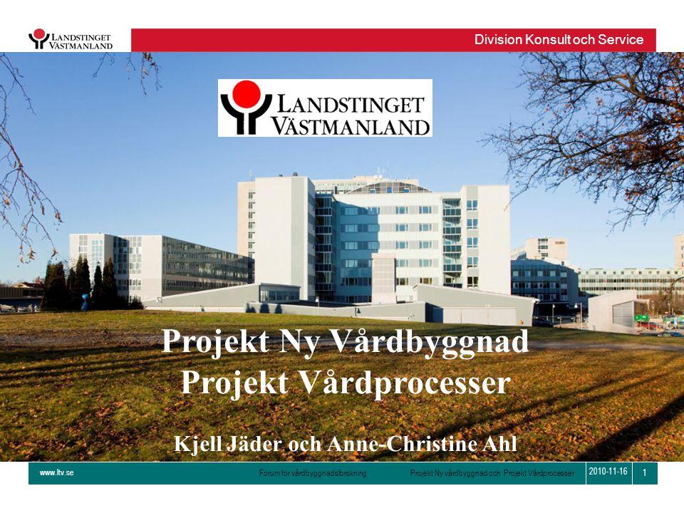 Projekt Ny Vårdbyggnad Projekt Vårdprocesser