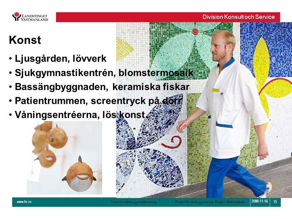 Konst Ljusgården, lövverk Sjukgymnastikentrén, blomstermosaik