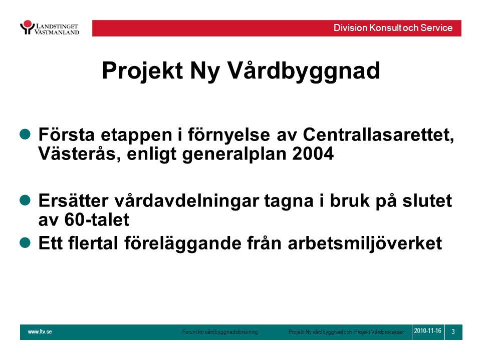 Projekt Ny Vårdbyggnad