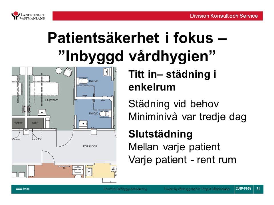 Patientsäkerhet i fokus –