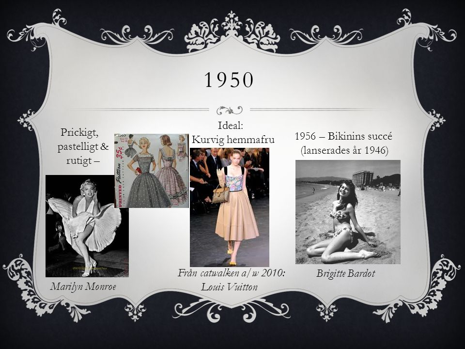 1950 Ideal: Kurvig hemmafru Prickigt, pastelligt & rutigt –