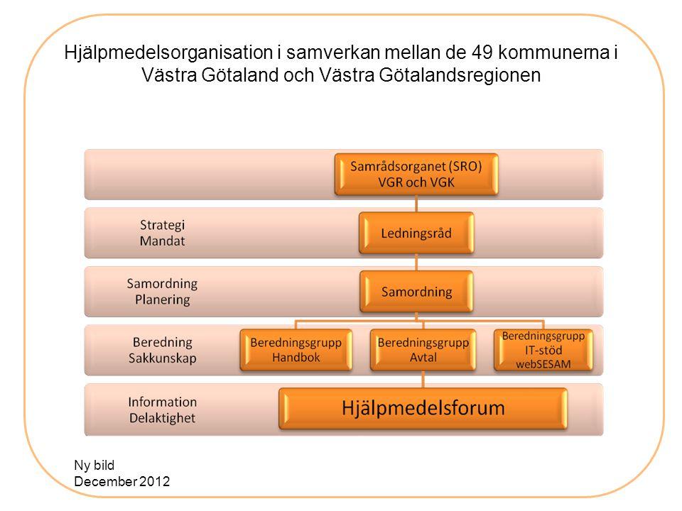 Hjälpmedelsorganisation i samverkan mellan de 49 kommunerna i Västra Götaland och Västra Götalandsregionen