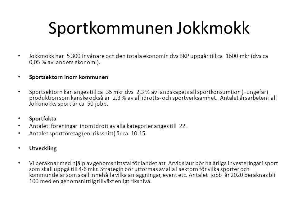 Sportkommunen Jokkmokk
