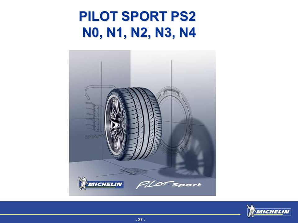 PILOT SPORT PS2 N0, N1, N2, N3, N4