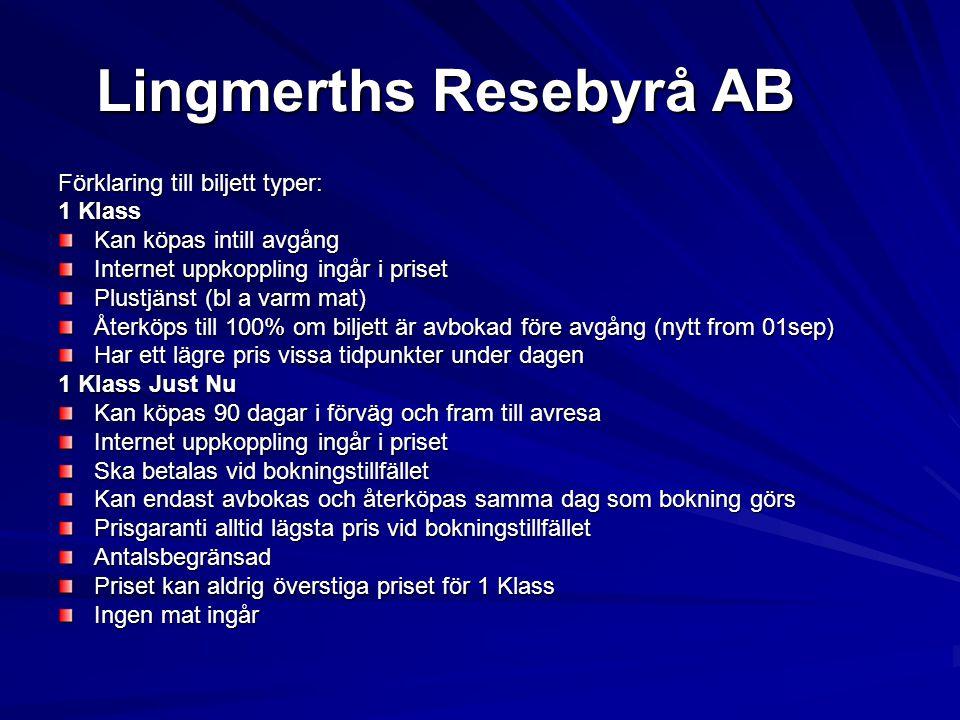 Lingmerths Resebyrå AB