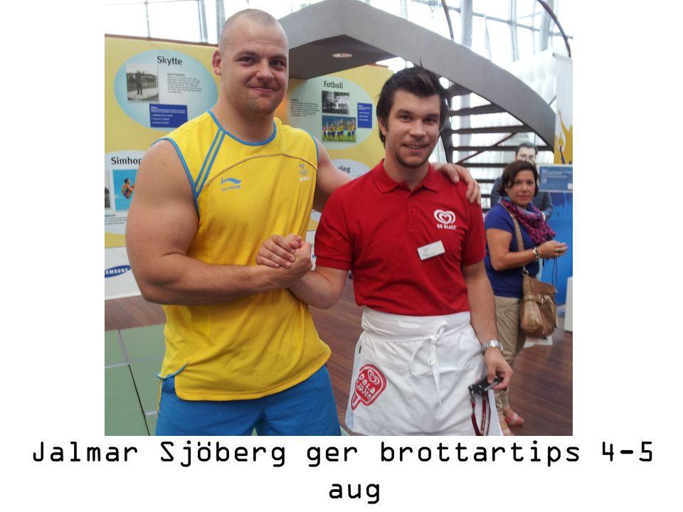 Jalmar Sjöberg ger brottartips 4-5 aug