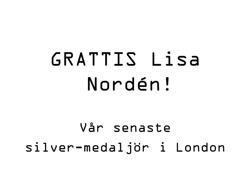 silver-medaljör i London