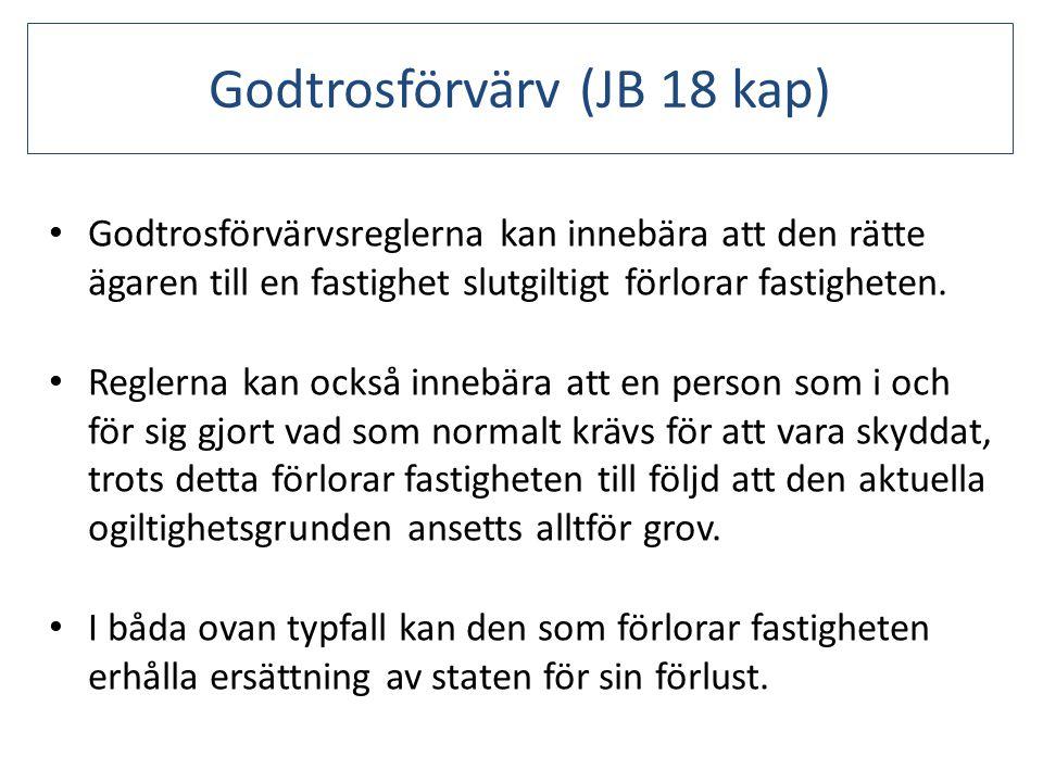 Godtrosförvärv (JB 18 kap)