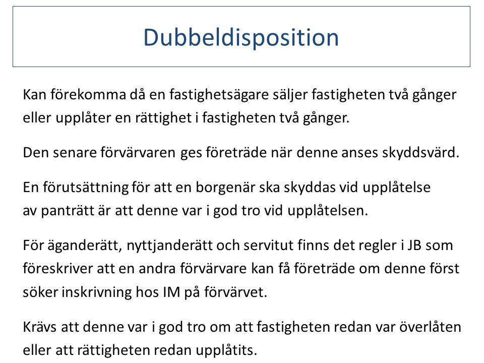Dubbeldisposition