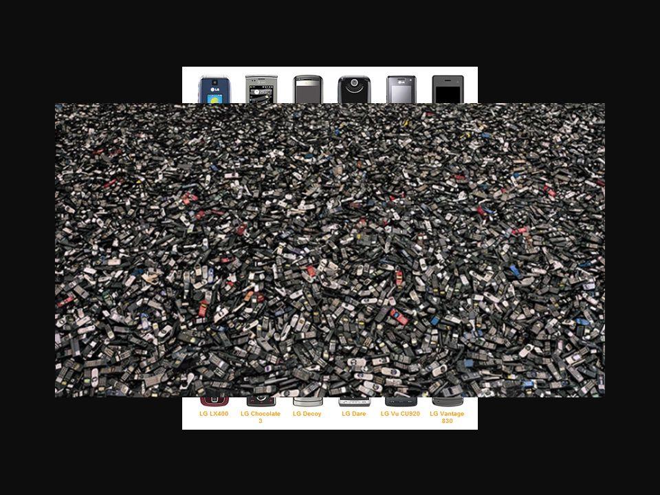 Till exempel nya telefoner måste ständigt köpas och förbrukas.