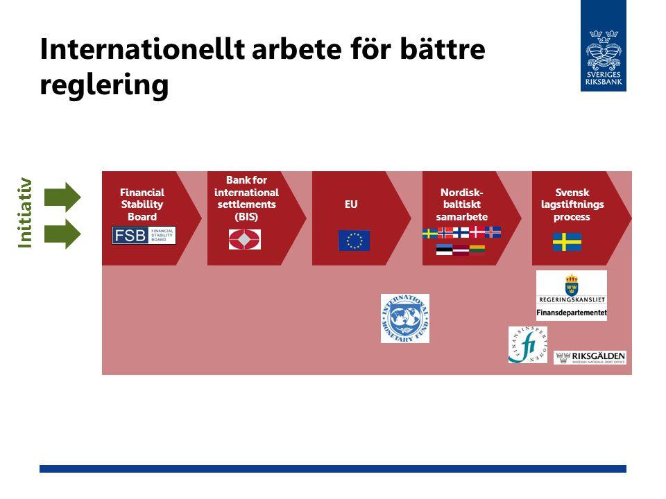 Internationellt arbete för bättre reglering