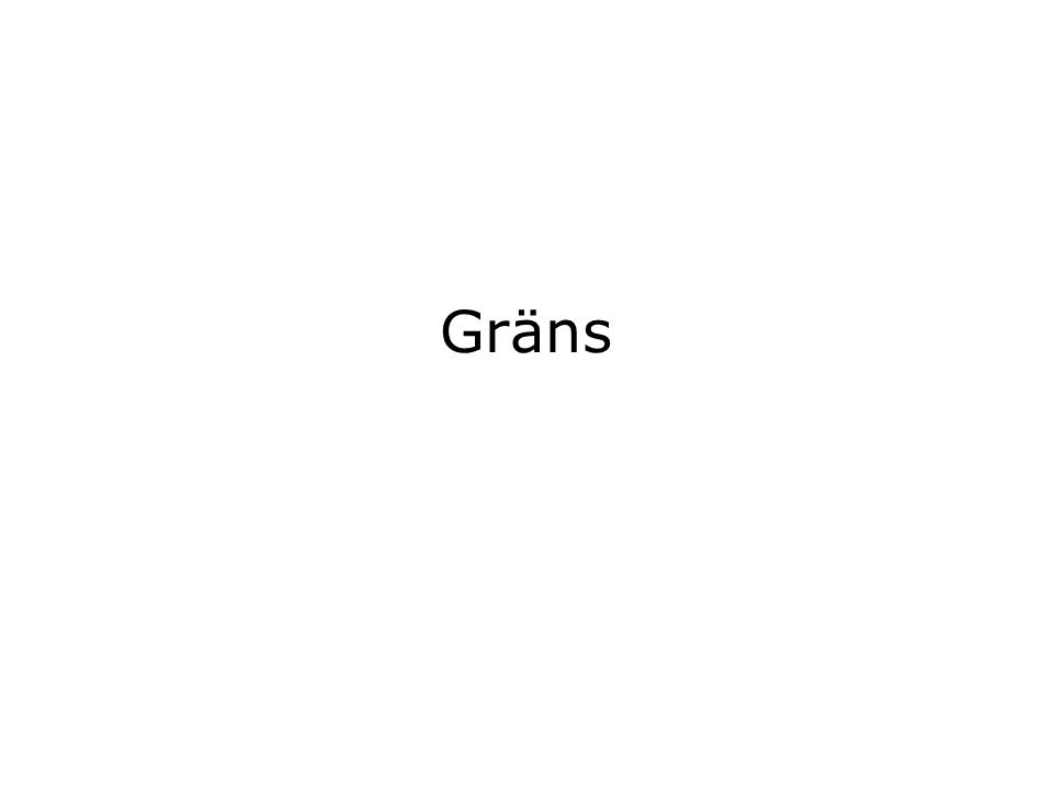 Gräns