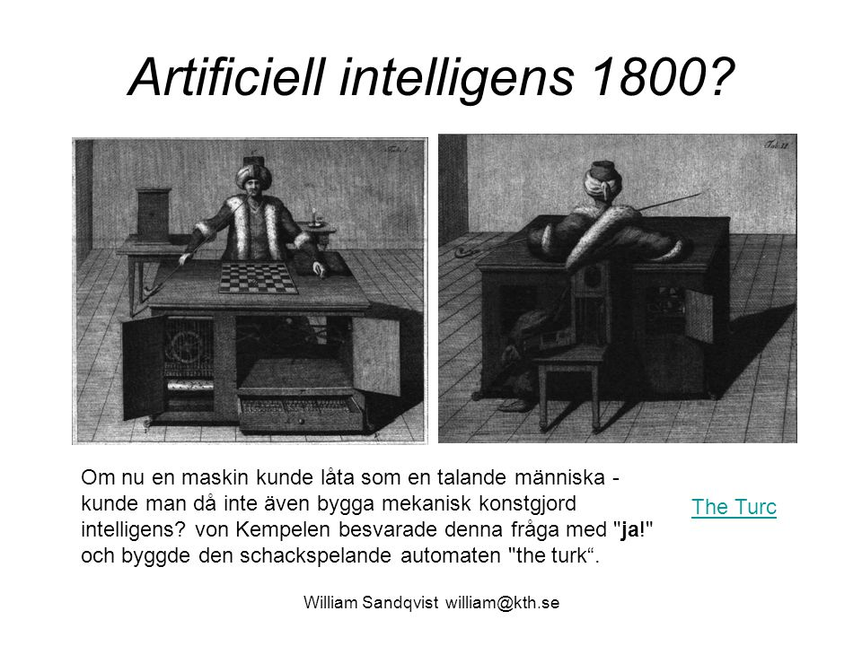 Artificiell intelligens 1800