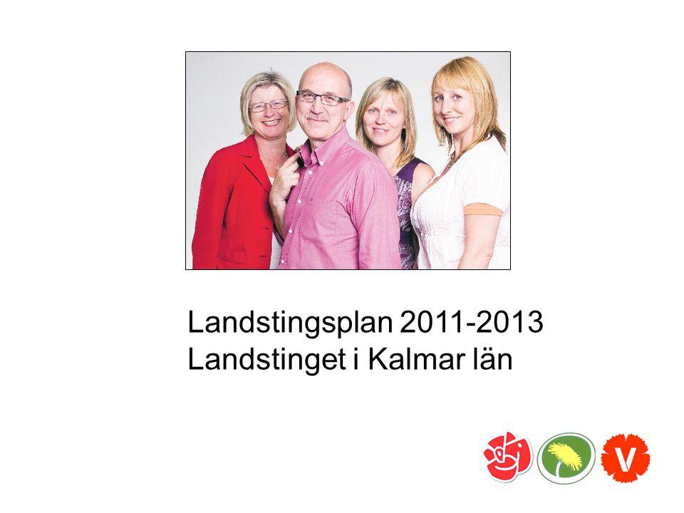 Landstingsplan 2011-2013 Landstinget i Kalmar län