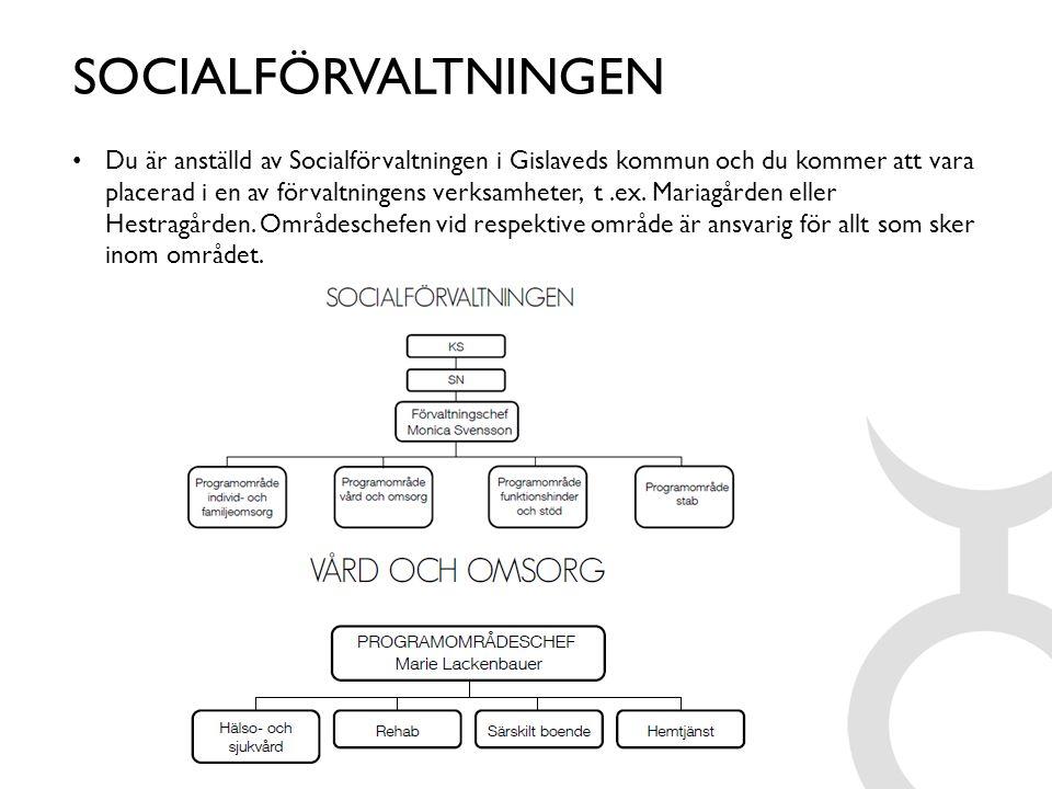SOCIALFÖRVALTNINGEN