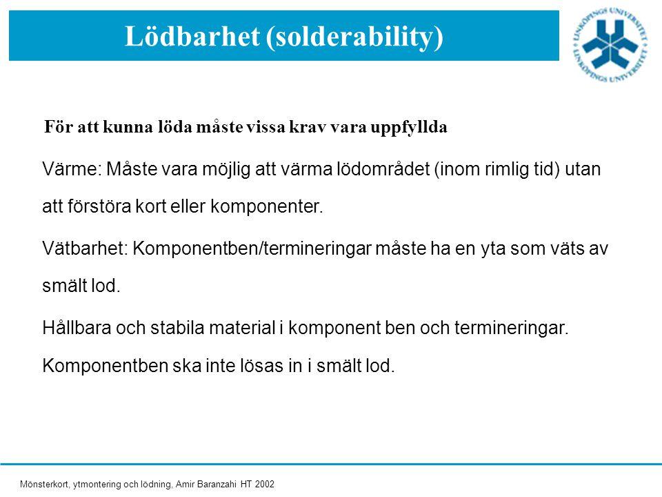 Lödbarhet (solderability)