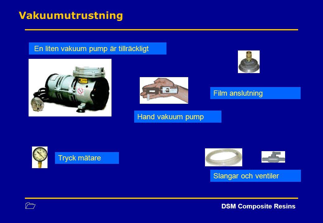 Vakuumutrustning En liten vakuum pump är tillräckligt Film anslutning