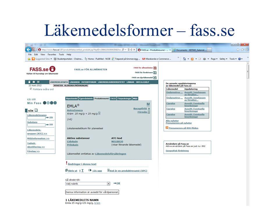 Läkemedelsformer – fass.se