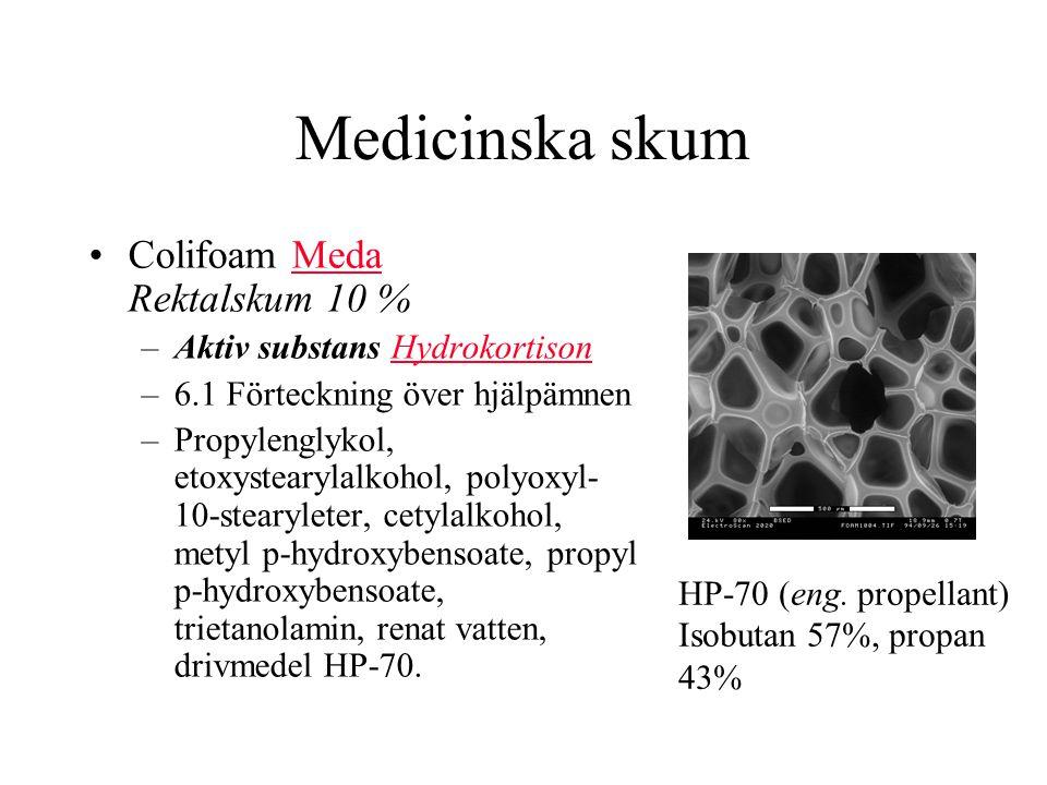 Medicinska skum Colifoam Meda Rektalskum 10 %
