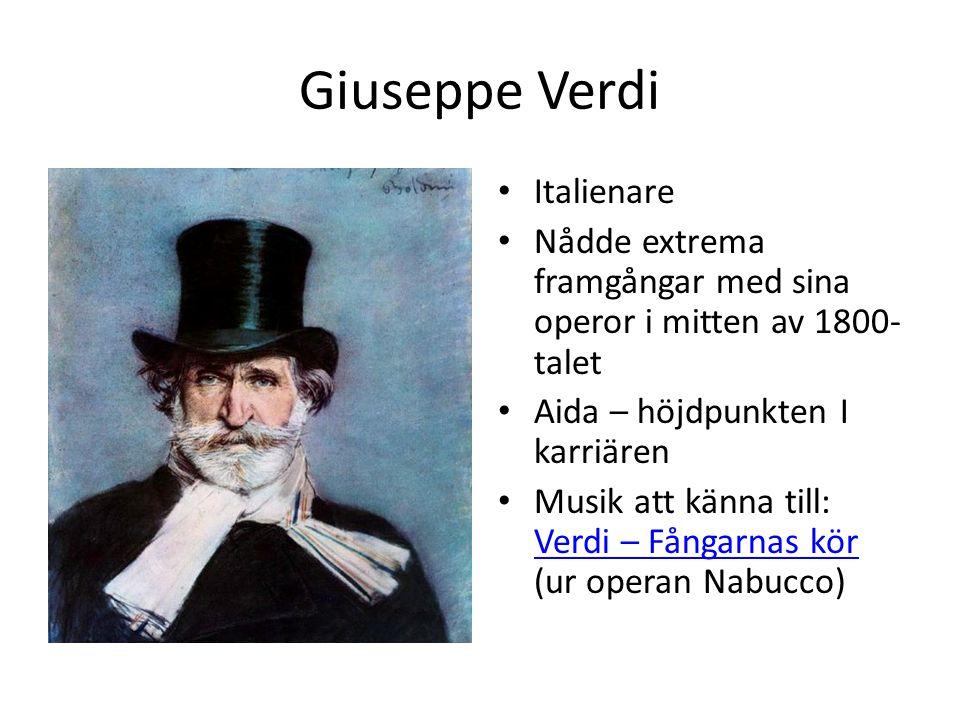 Giuseppe Verdi Italienare