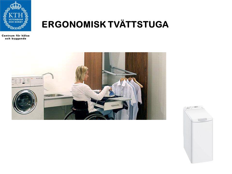 ERGONOMISK TVÄTTSTUGA