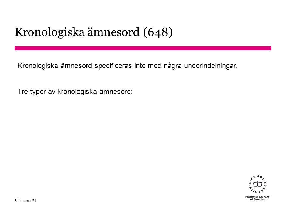 Kronologiska ämnesord (648)