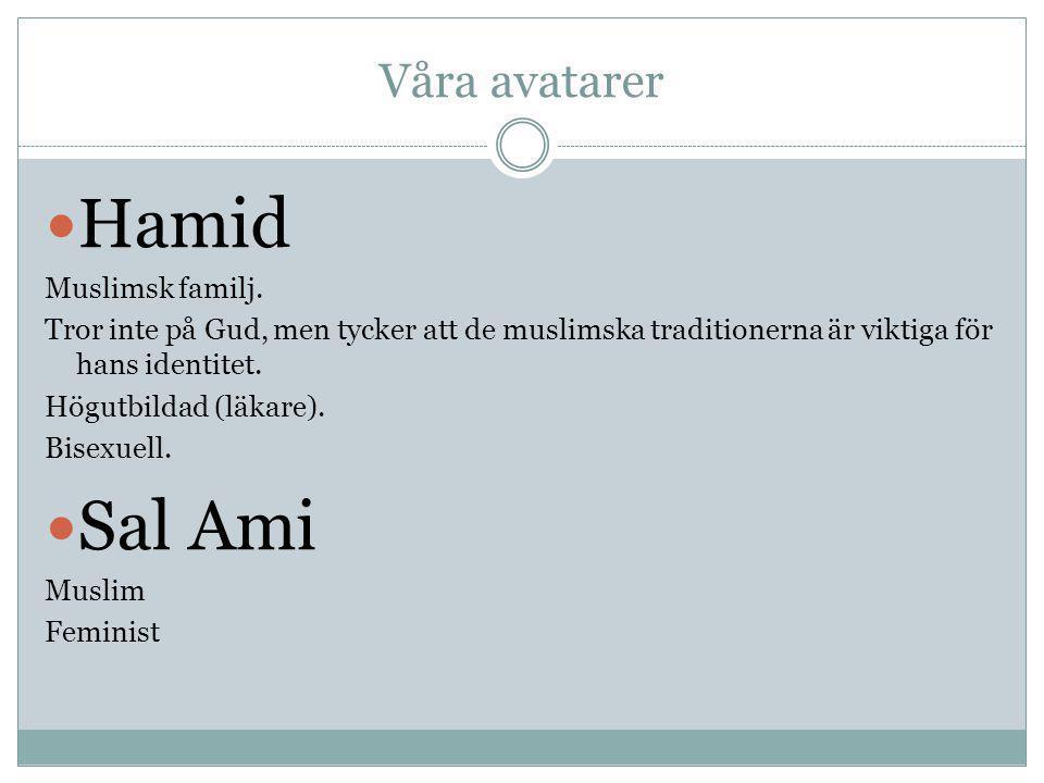 Hamid Sal Ami Våra avatarer Muslimsk familj.