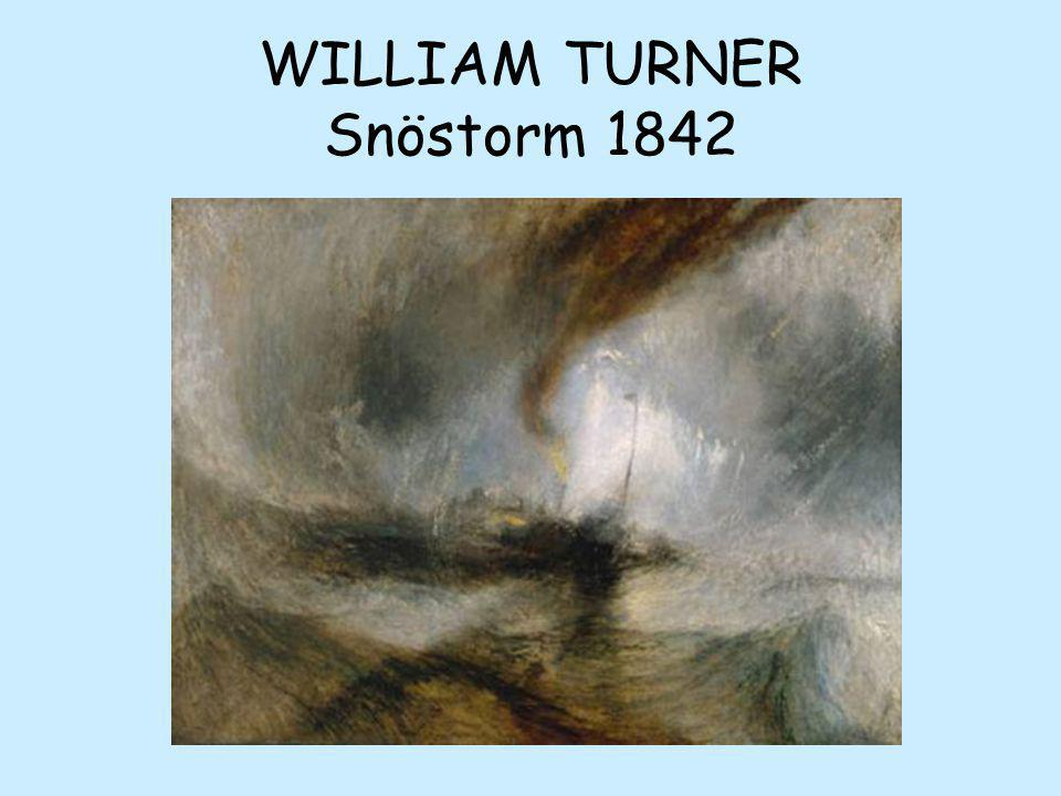 WILLIAM TURNER Snöstorm 1842