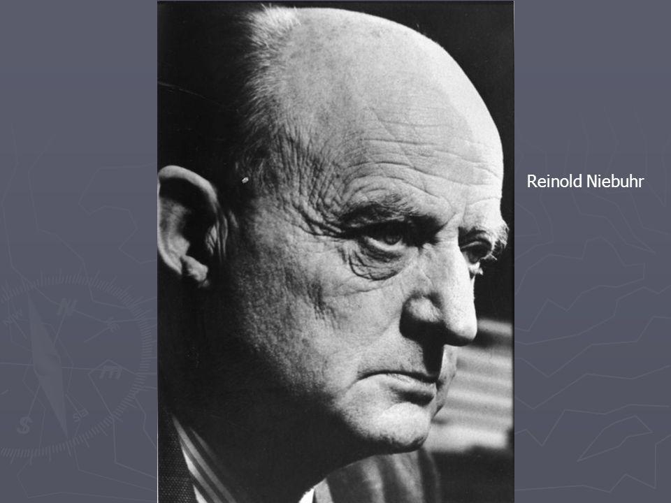 Reinold Niebuhr Karl Barth (1886-1968)