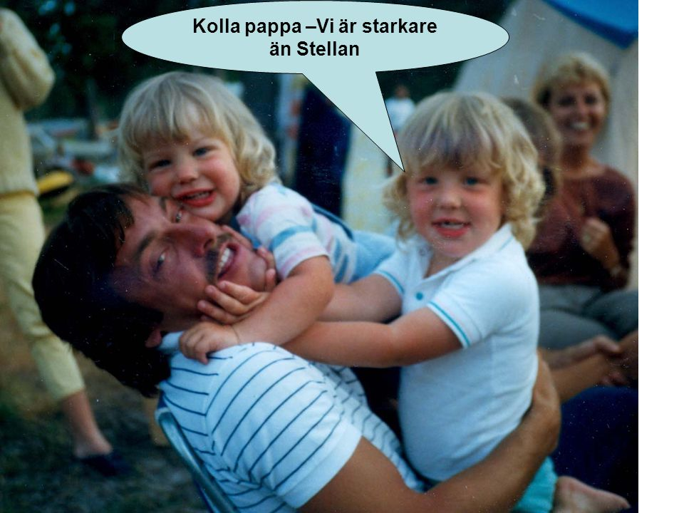 Kolla pappa –Vi är starkare än Stellan