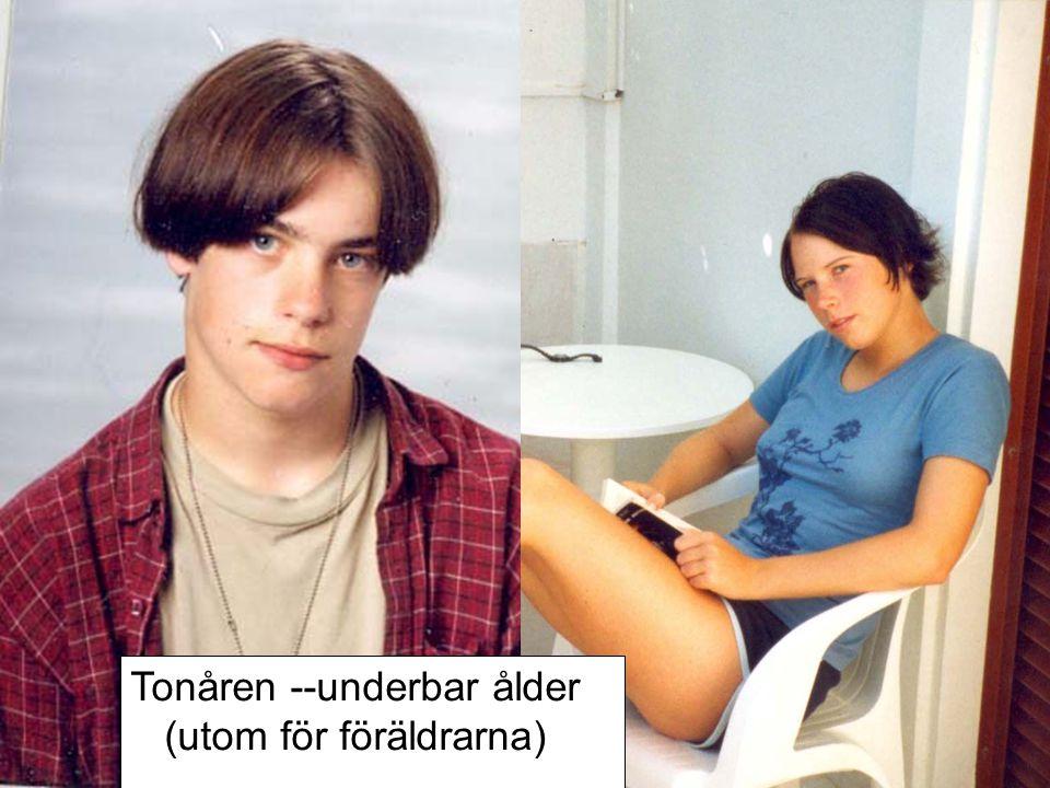 Tonåren --underbar ålder (utom för föräldrarna)