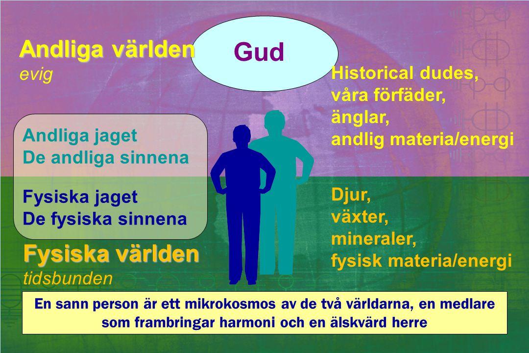 Gud Andliga världen Fysiska världen evig Historical dudes,