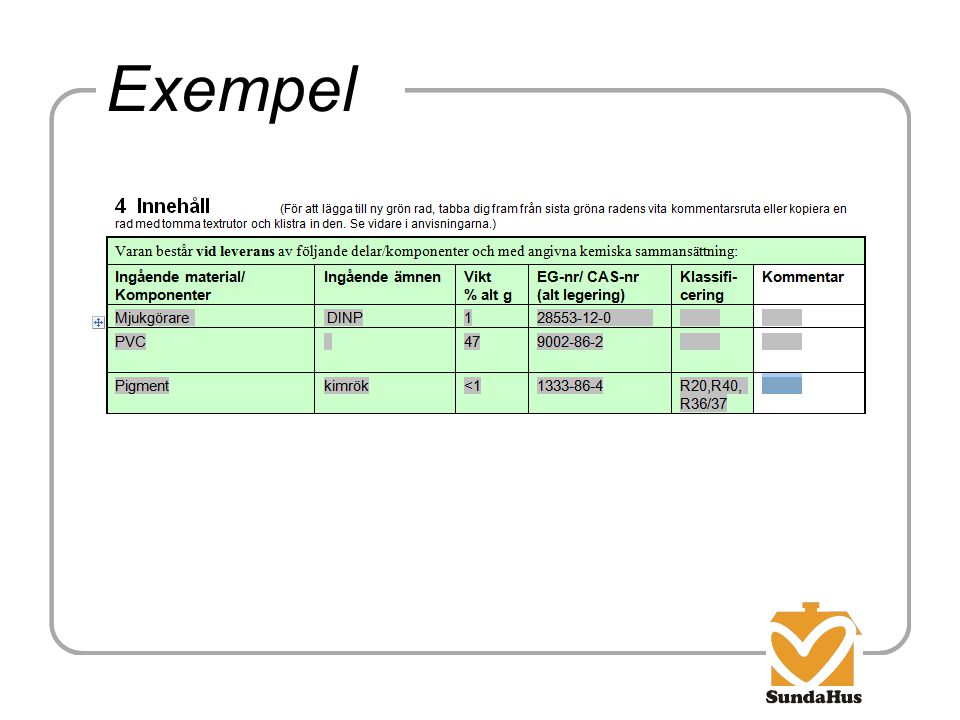 Exempel