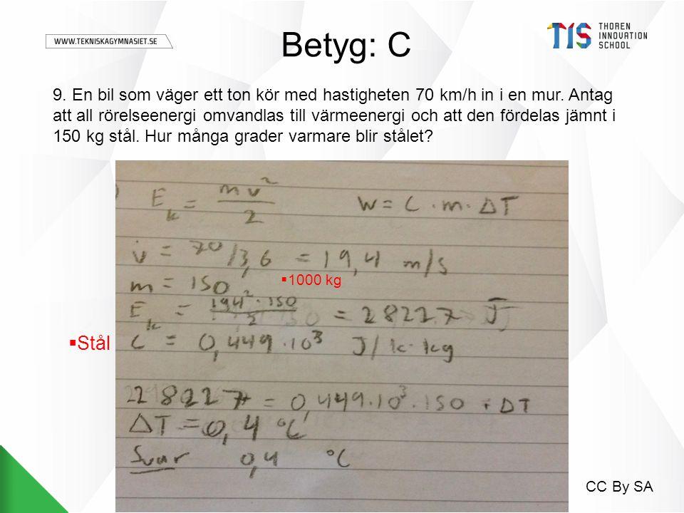 Betyg: C