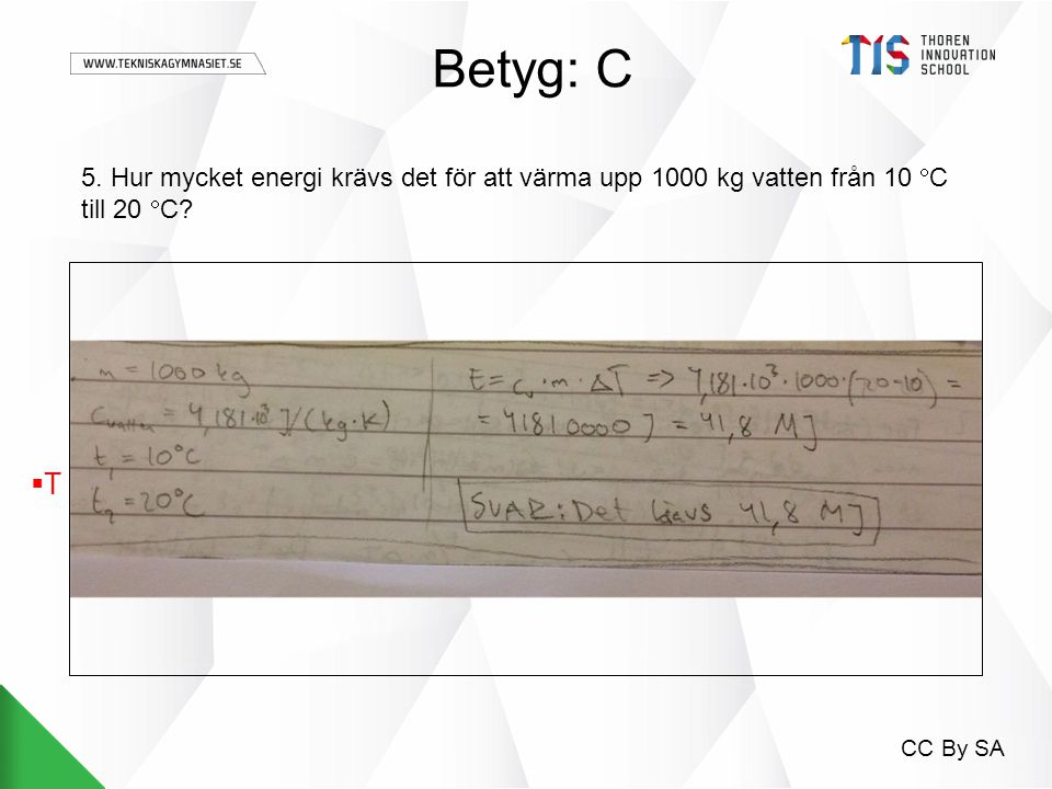 Fysik 1 energi prov