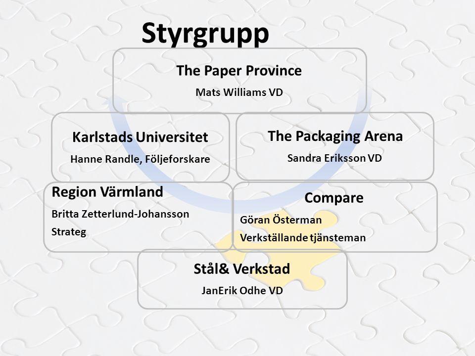 Karlstads Universitet Hanne Randle, Följeforskare
