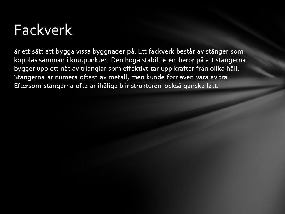 Fackverk