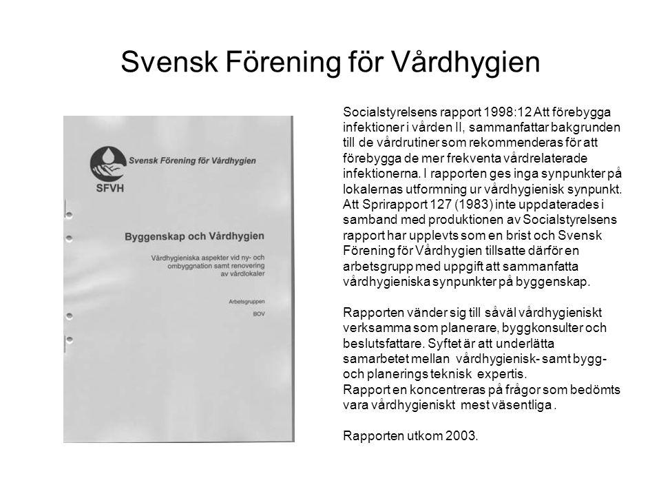 Svensk Förening för Vårdhygien