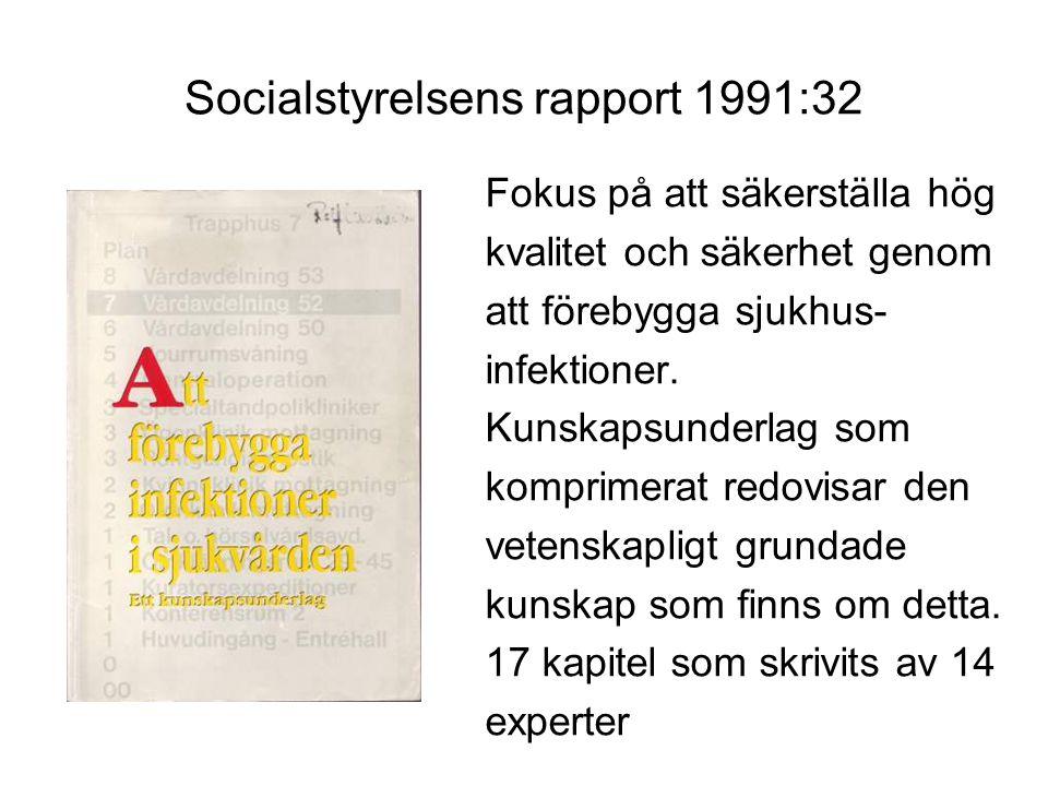 Socialstyrelsens rapport 1991:32